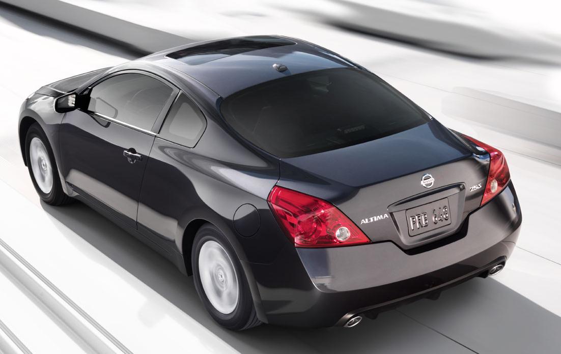 2008 Nissan Altima Coupe Interior. 2008 Nissan Altima Coupe.
