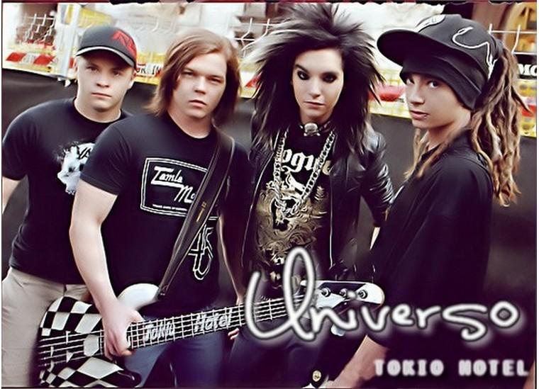 Tokio Hotel Universo