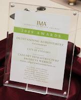Calgary Infrastructure wins International Web Award
