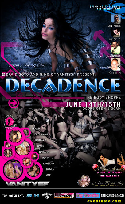 Decadence Flyer