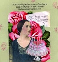 100th Bday Cards for 100th Bday