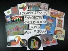 Favorite Childhood Toys Blog Hop