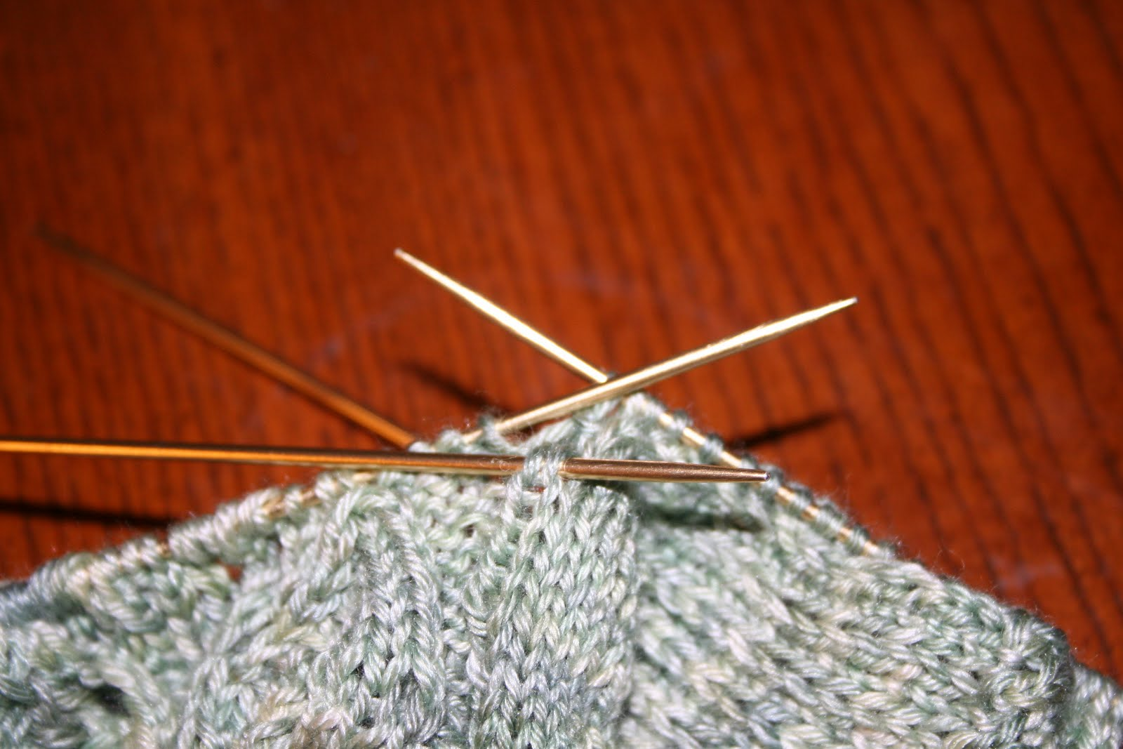 The Knitting Curmudgeon: Im hot -- Youre hot -- Hes hot -- She...