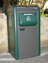 compactadora de lixo alimentada por energia solar