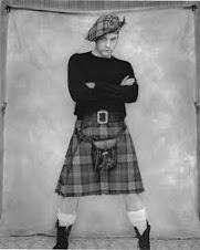 Ewan MacGregor in a kilt