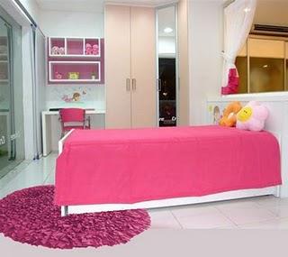 Apartamento Quarto+rosa