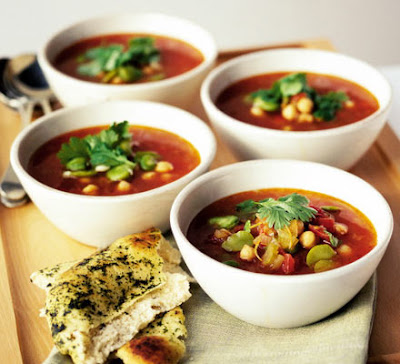 Moroccan chickpea soup recipe - How to make Moroccan chickpea soup