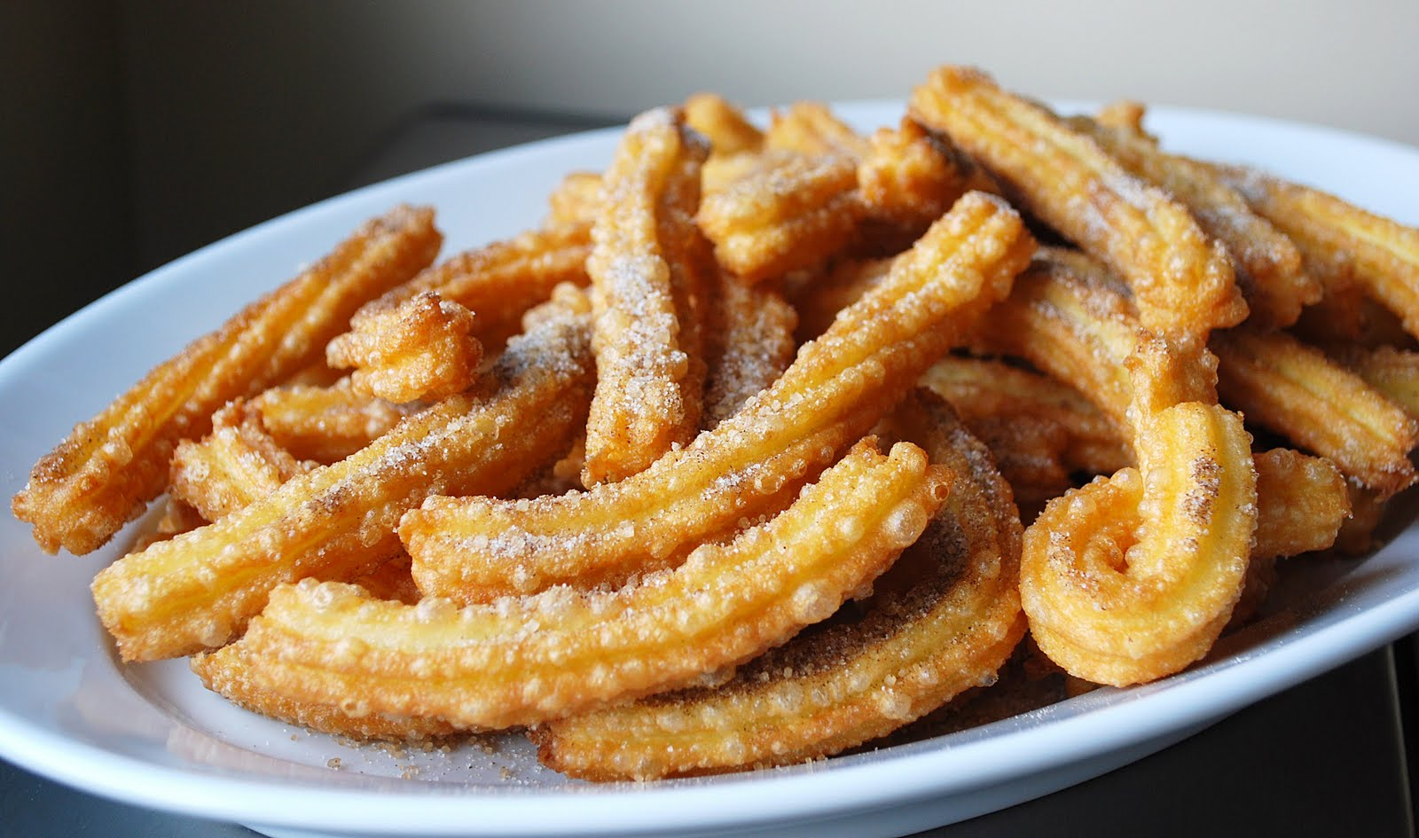Churros prepared at home