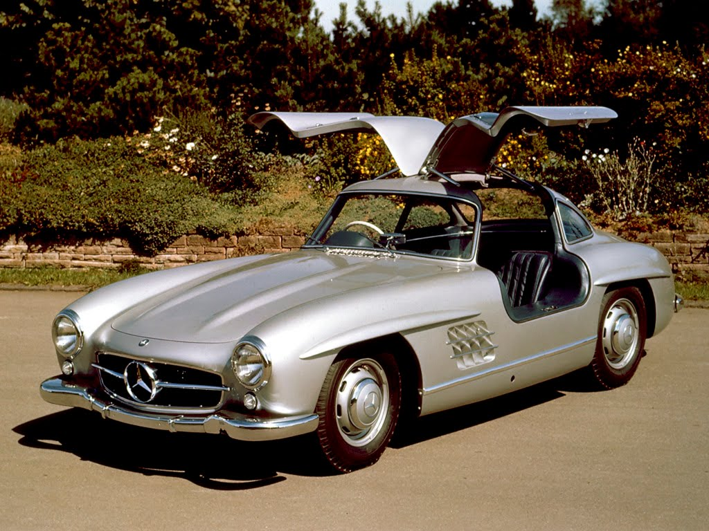 2009 MERCEDES GULLWING