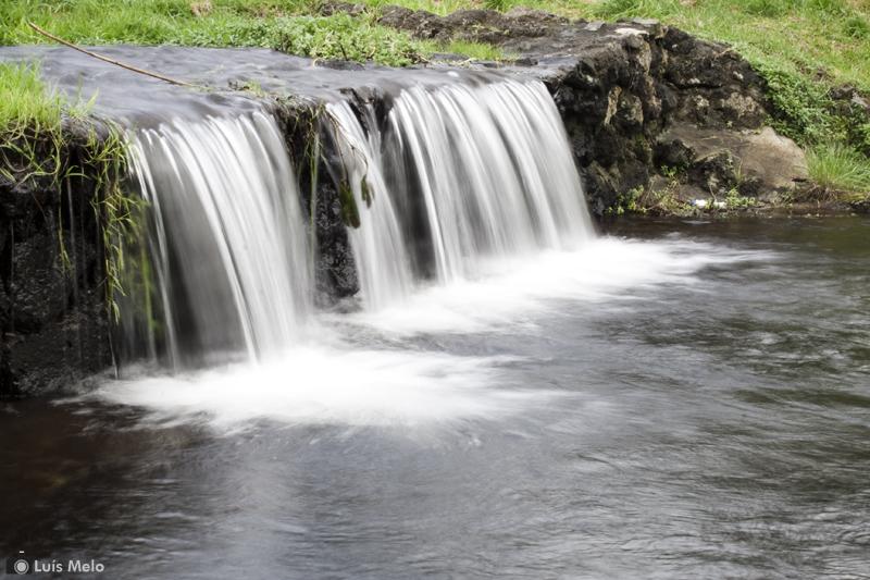 Água e anoitecer Agua