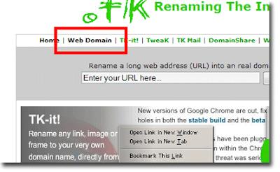 cara mendapatkan cara setting pemasangan Top Level Domain Gratis TLD dari Dot.Tk untuk Blogspot