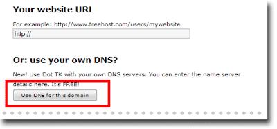 mendapatkan domain gratis