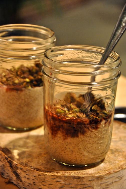 Quinoa & Hemp milk pudding