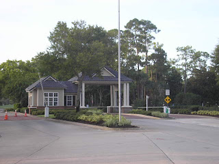 Plantation Bay Golf & Country Club north guard gate
