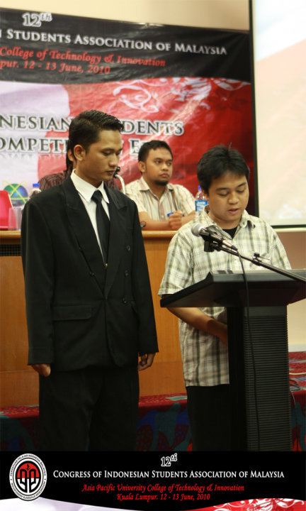 Serah terima jabatan ketua PPIMalaysia