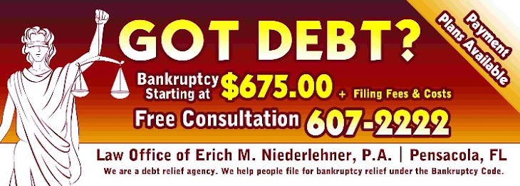 Got Debt? Bankruptcy Attorney: Pensacola, Mobile, Fairhope, Fort Walton Beach, Panama City