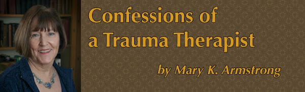 Confessions of a Trauma Therapist by psychotherapist Mary Armstrong