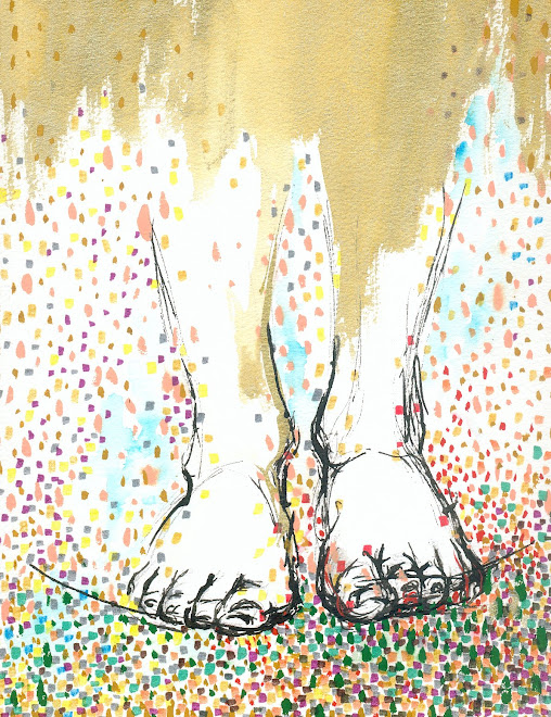 pies, de vuelta a la tierra
