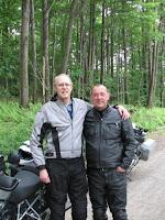 Neil Peart e Richard S. Foster em 2007