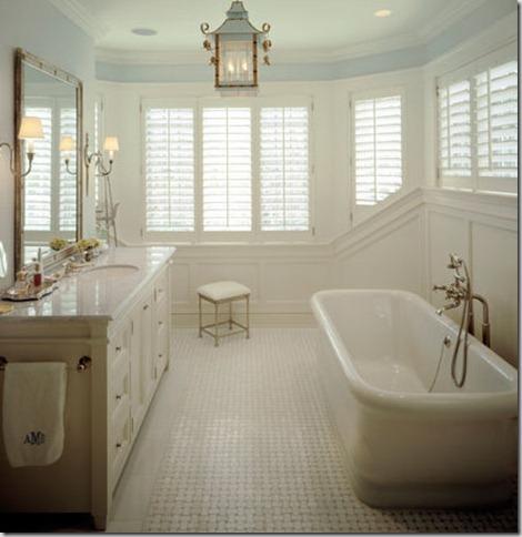Whole Lotta Love: The Classic White Marble Bathroom