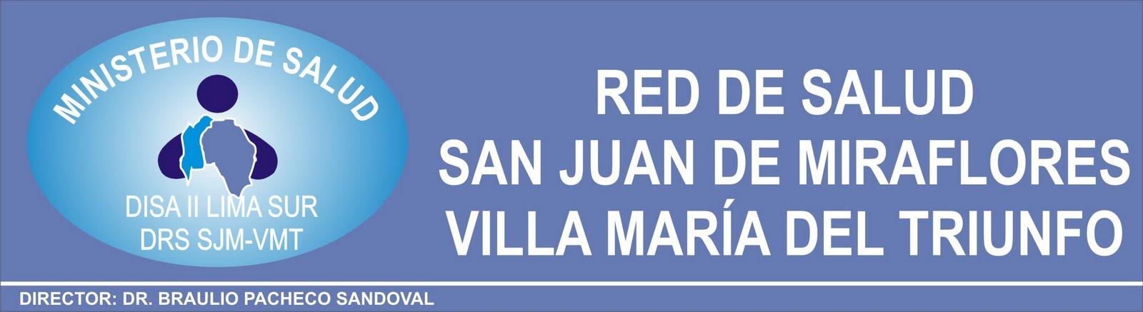 RED DE SALUD SJM VMT