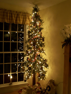 Slim Pencil Christmas Tree