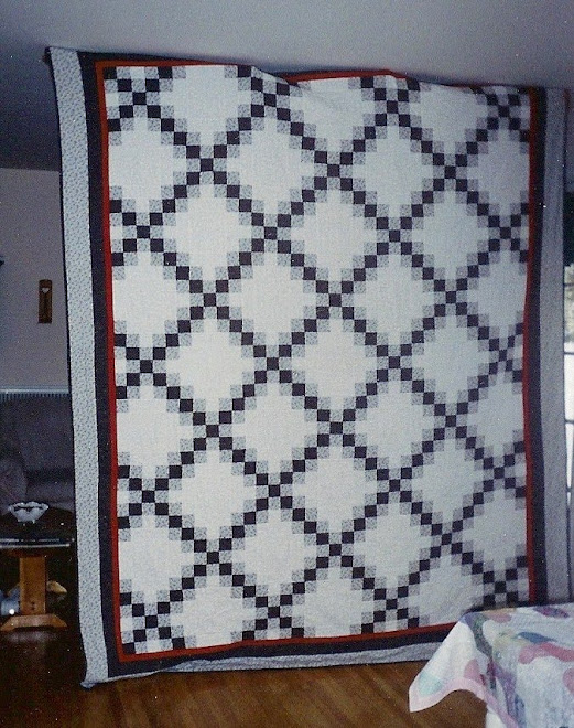 Al's Quilt - Double Irish Chain
