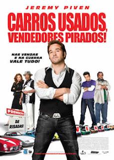 Filme Poster Carros Usados, Vendedores Pirados DVDRip RMVB Dublado