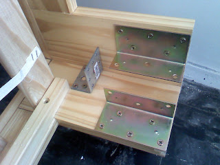 Lit standard transform en mezzanine - Construire un lit mezzanine ...