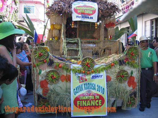 The best float in Pahiyas 2010