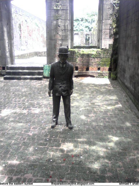 Jose Rizal in Intramuros