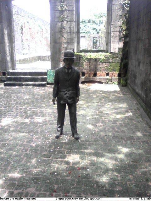 Jose Rizal in Intramuros