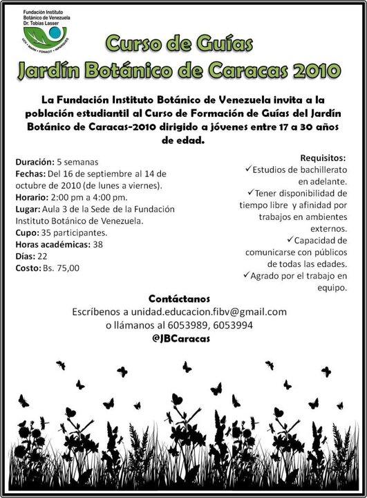 Rboles de san pedro solo jovenes curso en el jard n for Jardin botanico cursos