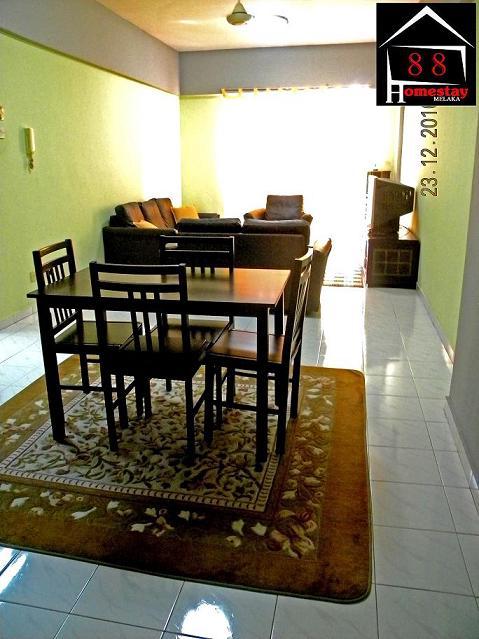 88 Homestay Melaka Kondominium Pasir Emas