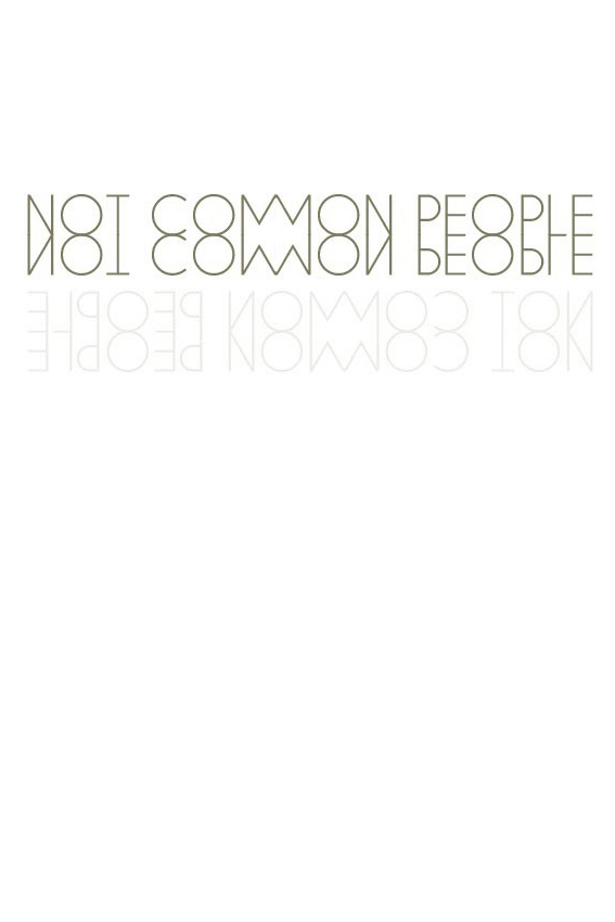(not) common people