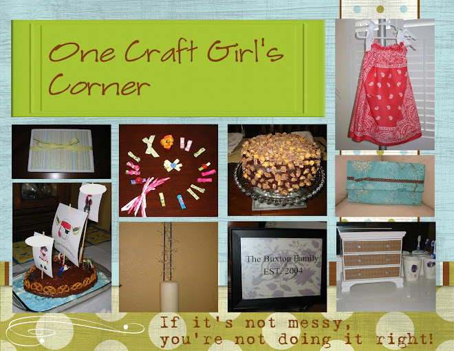 One Craft Girl's Corner