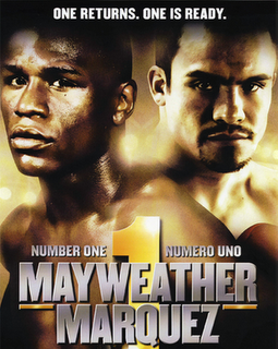 Mayweather vs Marquez fight result