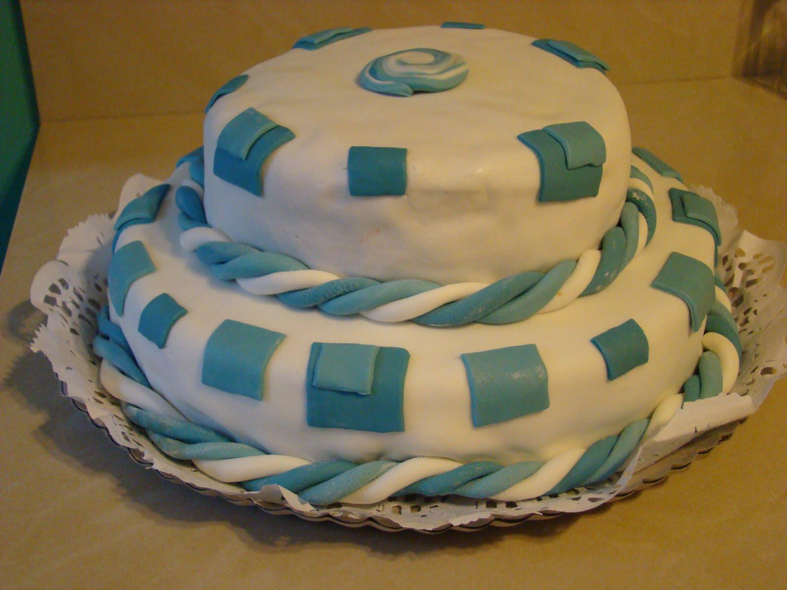 Dulce Tentación , Pastelería Artesanal: Torta de Bautismo