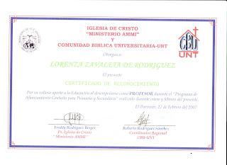 Ministerio ammi certificados del ministerio for Certificado ministerio del interior