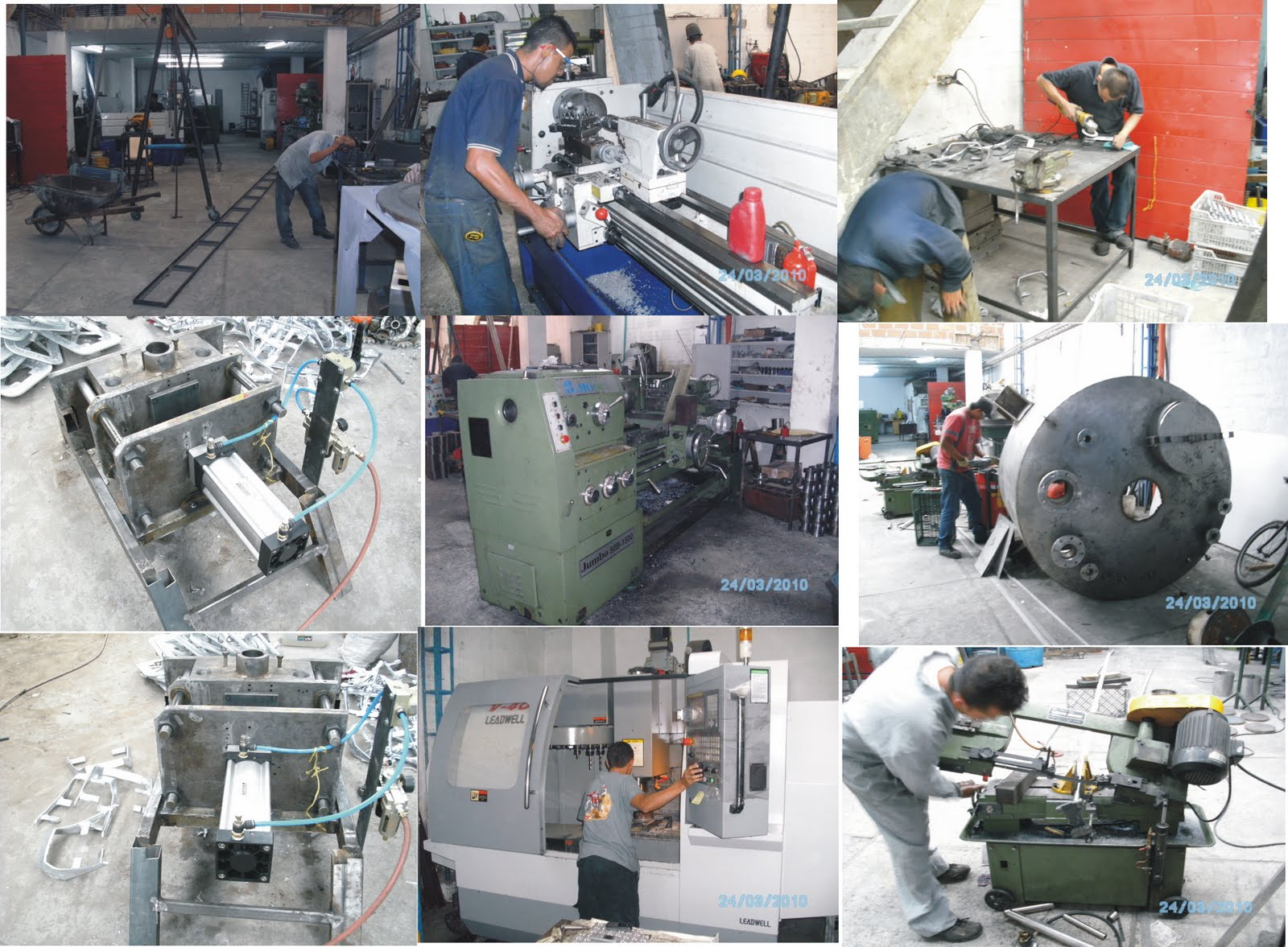 Inversiones fraza taller industrial for Mision comedor industrial