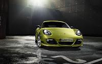 Porsche Cayman R front