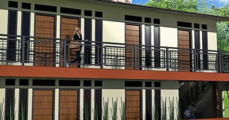 kumpulan desain rumah berkebun rumah kost dengan gaya