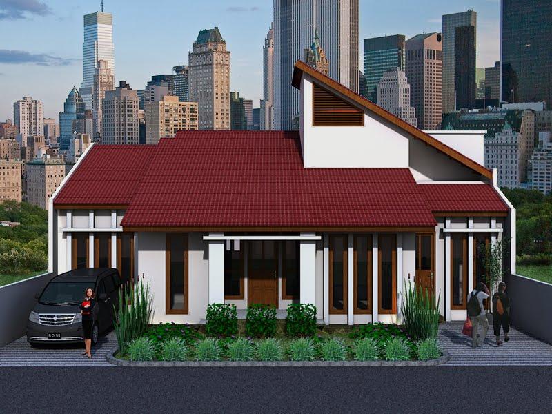 Rumah Minimalis Dengan Tampilan Simpel