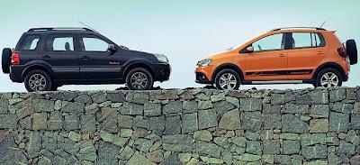 Ford EcoSport y Volkswagen CrossFox