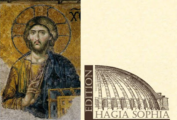 Blog Hagia Sophia éditions France