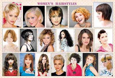 Women Hair Styles Poster