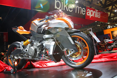 New Motor Picture: Aprilia FV2 1200 Alien Concept Modifikasi