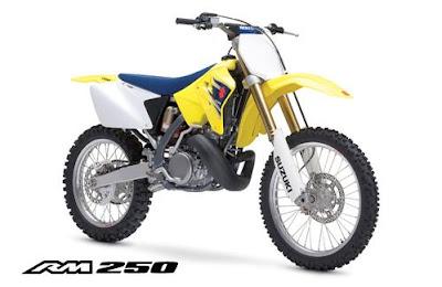 Gambar Motocross Suzuki RM250-2007