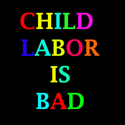 child labour is a curse to Child labour is a curse to our society and a crime against humanity children work when they are supposed to play or go to school the sad thing is that they work under hazardous conditions though acute poverty is the main cause for child labour throughout the world, everybody – society, parents.