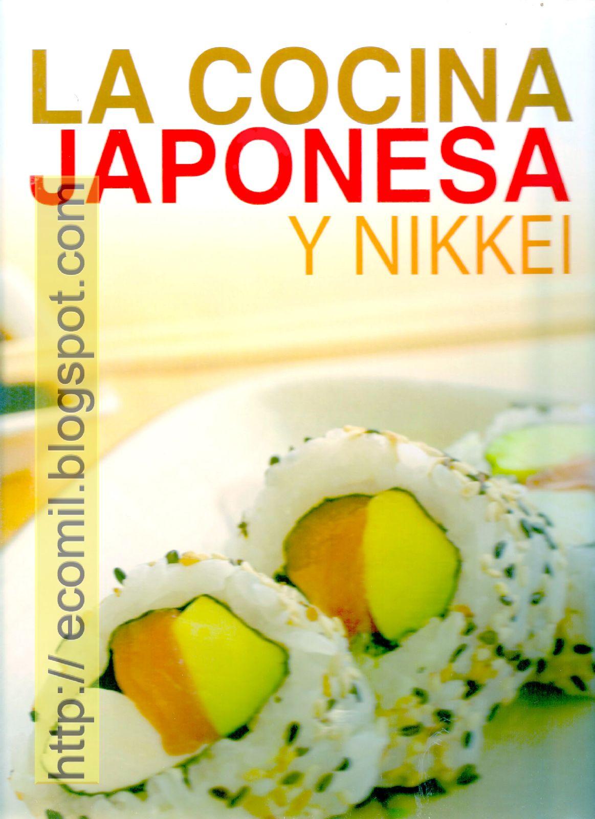 Libros Cocina Japonesa | Cocina Reposteria La Cocina Japonesa Y Nikkey